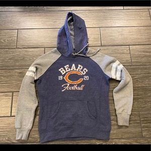 NFL Team Apparel Chicago Bears Hooded Sweatshirt
